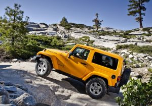 2013 jeep wrangler Side View