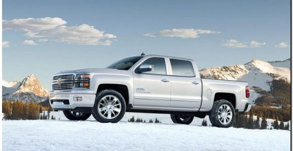 2014 Chevy Silverado  Side View