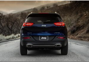 2014 Jeep Cherokee Back Side