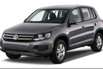 2014 Volkswagen Tiguan Left View