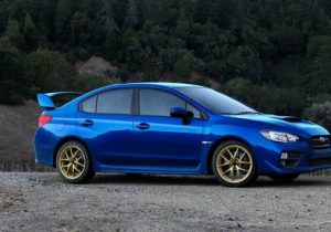 2015 Subaru Wrx Sti Side View