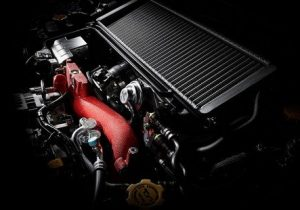 2015 subaru wrx sti turbocharged 25 liter flat 4 engine