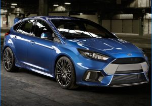 2016 ford focus rs price