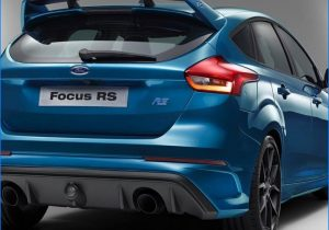 2016 ford focus rs release date