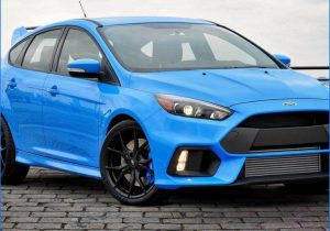 2016 ford focus rs specs