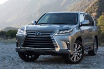 2016 lexus lx 570 changes