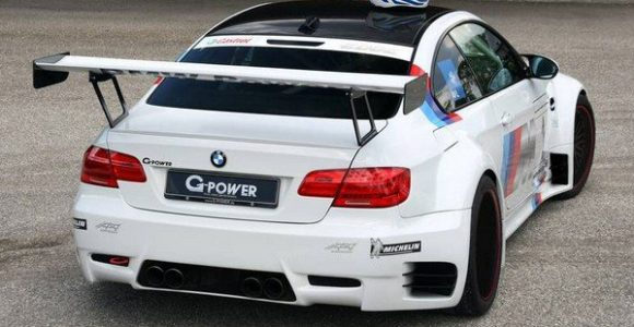 BMW M3 GT2 R G Power Interior Wing