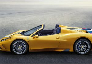 Ferrari 458 Spider  Side