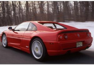Ferrari F355 BAck Side
