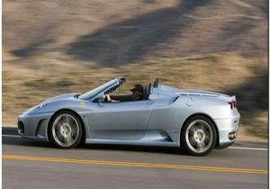 Ferrari F430 Spider Side