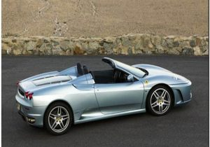Ferrari F430 Spider Top View