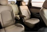 Hyundai Santa Fe 2014 Rear Seats
