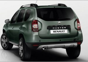 Renault Duster Facelift Back