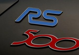 ford ocus rs500 liftgate badge